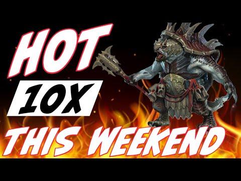 10x for Krisk - Hot weekend | RAID SHADOW LEGENDS