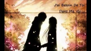 {Nightcore} J'ai Besoin De Toi Dans Ma Vie [FR]