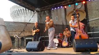 Lew Lewis, MaKes  My Heart Go Boom' Summer Jamboree, Italy 2017