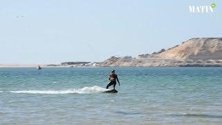 Les kitesurfeurs juniors s'éclatent sur le spot de Dakhla, les Marocains en confiance
