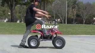 razor electric dirt quad ready for new terrain