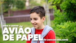 Avião de papel - Carolina deslandes - cover