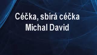 Céčka, sbírá céčka - Michal David Karaoke tip