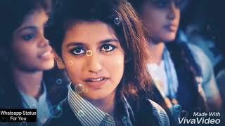 Priya Prakash Varrier | Dekha Hazaro Dafa Aapko | New WhatsApp Status |