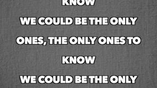 Pitbull - Only Ones To Know [Full Song Lyrics]