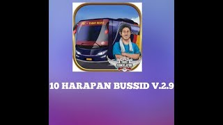 Inilah 10.harapan bussid update ke v 2.9