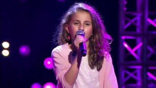 10-Year Old Gaelle Sings Jasmine Thompson's Ain't Nobody - Voice Kids