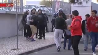 Agressão PSP a adepto Benfica - FC Porto