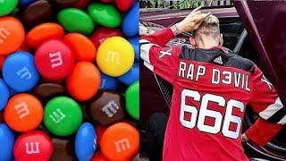 Machine Gun Kelly Eats Some M&M's || Rap Devil Jersey || Bam & Pete Davidson