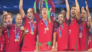 (Relato Emocionante) Portugal 1 Francia 0 (TSF Portugal) Eurocopa 2016
