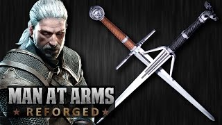 Witcher 3: Silver & Steel Swords - MAN AT ARMS: REFORGED width=