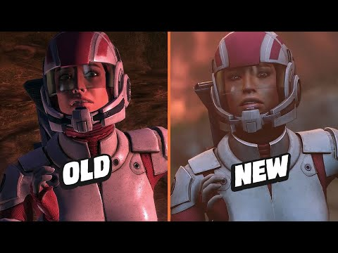 WTFF::: Mass Effect Legendary Edition Graphics Comparison Shows a Significant Step Forward