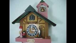 School Bell Music Cuckoo Clock (#60307)