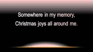 Somewhere In My Memory (with lyrics, widescreen)