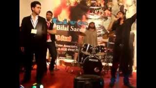 Bilal Saeed 12 Saal Performing Live Concert in Quetta