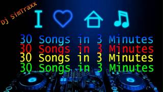 Best of Electro House 30 Songs in 3 Minutes
