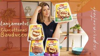 CHOCOTONES DA BAUDUCCO Natal 2020 | EXPERIMENTANDO | TPM por Ju Ferraz