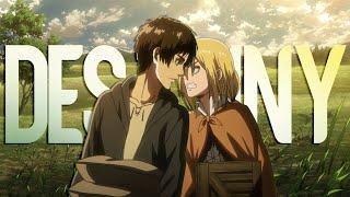 Titan Eren vs Titan Reiss - Shingeki no Kyojin Season 3「AMV」Destiny