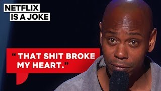 Dave Chappelle Finds Out His Son Smokes Weed | Netflix Is A Joke