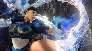 Street Fighter 5 - Chun Li vs Bison Full Match in 60 FPS width=