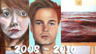My Art Progress Age 16-24