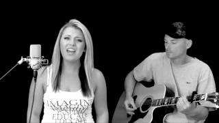 Love The Way You Lie - Krista Nicole Acoustic Cover feat. Mars Raps - Eminem ft. Rihanna