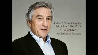 Video CV/Resume Demo by Robert De Niro