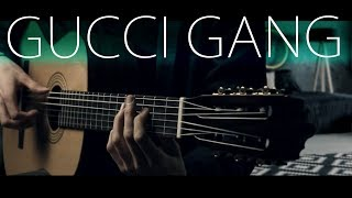 Gucci Gang but it's played on... a classical guitar