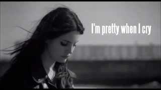 Lana Del Rey - Pretty When You Cry [INSTRUMENTAL WITH LYRICS]