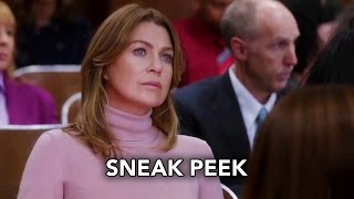 "Grey's Anatomy 13x02 Sneak Peek ""Catastrophe and the Cure"" (HD)"