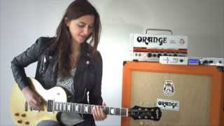Laura Cox - Apocalyptic Love - Intro & Solo - Slash cover