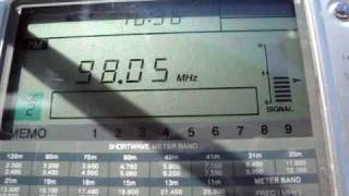 98 FM 98 HITOV - received in Germany (1700 km)