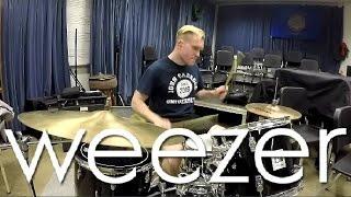 Weezer - Feels Like Summer - Drum Cover By Rex Larkman