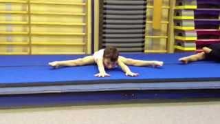 Allenamento di ginnastica artistica (training artistic gymnastics)