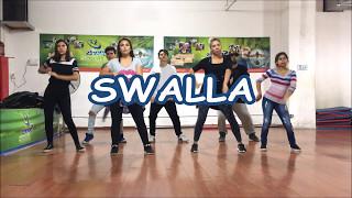 Zumba - SWALLA - Jason Derulo (feat. Nicki Minaj & Ty Dolla $ign) , easy Choreography