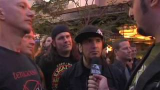MACHINE HEAD Interview at the Revolver Golden God Awards