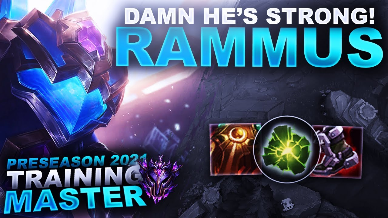 HuzzyGames - RAMMUS IS AWESOME! NEW BEST JUNGLER FOR SOLOQ? | League of Legends