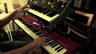 Burn - Deep Purple - Hammond organ and Moog solo