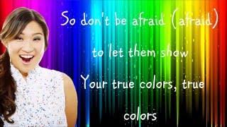 Glee - True Colors (Lyrics) HD
