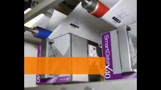Markem-Imaje SmartDate X40 - znakowanie na folii opakowaniowej