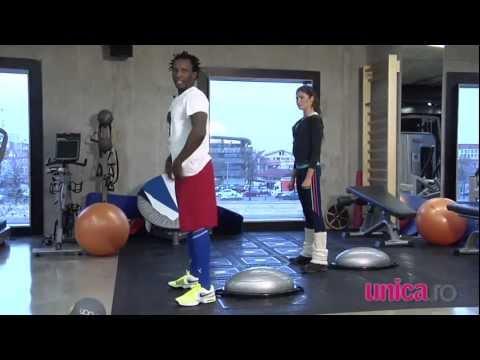 Exerciții pentru brațe, abdomen și piept