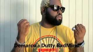 Demarco - Dutty Badmind || May 2014 || Guitar String Riddim || @DjGarrikz || Di Genius Records