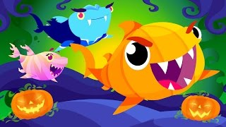 Baby Shark's Halloween | Halloween Songs | by Little Angel