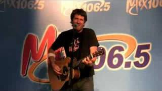 Matt Nathanson - Gone - Live at Mix 106.5 San Jose