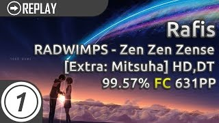 Rafis | RADWIMPS - Zen Zen Zense (movie ver.) [Extra: Mitsuha] +HD,DT | 99.57% 631pp #1