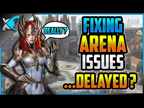 *FIXING ARENA* ...Delayed !? | Patch 2.10 & 2.20 News | RAID: Shadow Legends