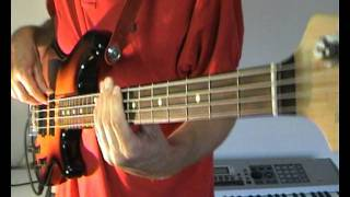 Labelle - Lady Marmalade - Bass Cover