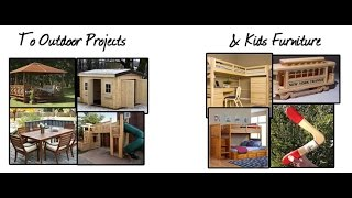 log furniture plans | log furniture ideas to outdoor project & kids furniture