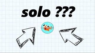 Agario SOLO(?) // Agario Gamplay