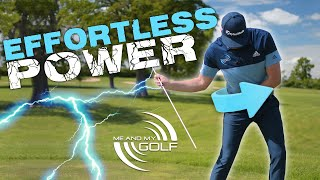 SIMPLE Tips for an EFFORTLESS GOLF SWING | ME AND MY GOLF